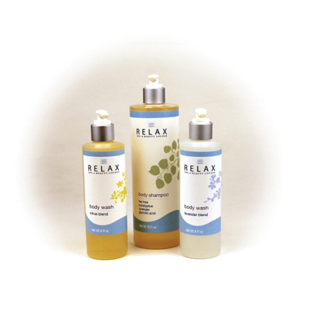 Relax Home Spa Collection Body Wash