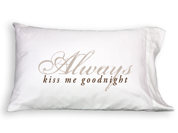 Faceplant Pillowcases Unique Faceplant Dreams Always Kiss Me Goodnight Pillowcase Relax Spa And