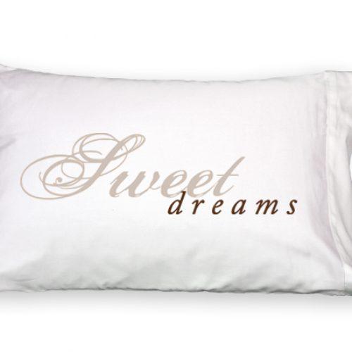 Sweet Dreams Faceplant Pillowcase